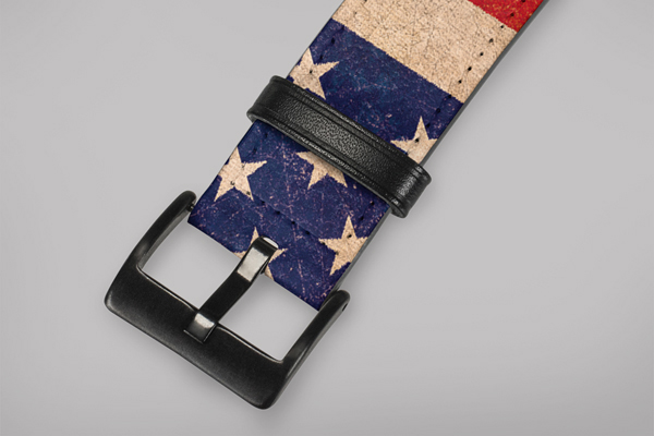 Lifestyle American Flags Apple Watch Band 42-44mm 2