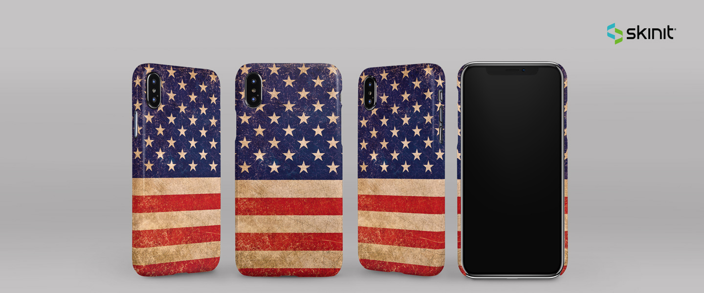 Lifestyle American Flags iPhone XS Max Lite Case 5
