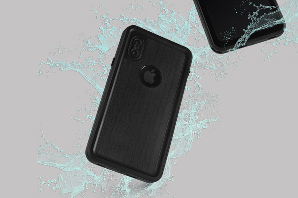 Patterns Wood iPhone XS Waterproof Case 2