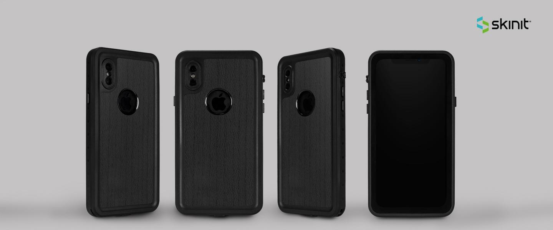 Patterns Wood iPhone XS Waterproof Case 5