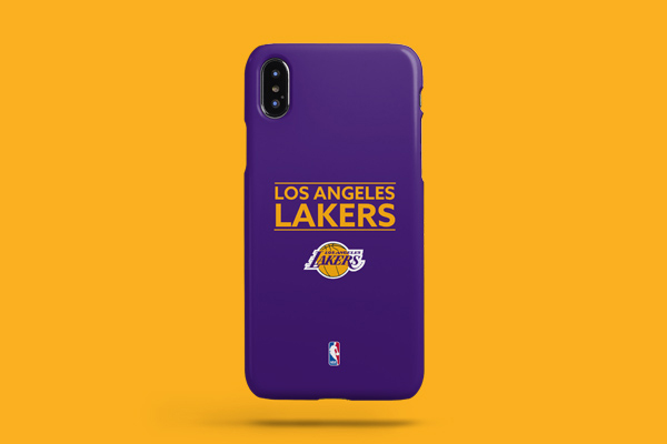 NBA Los Angeles Lakers iPhone XS Max Lite Case 2