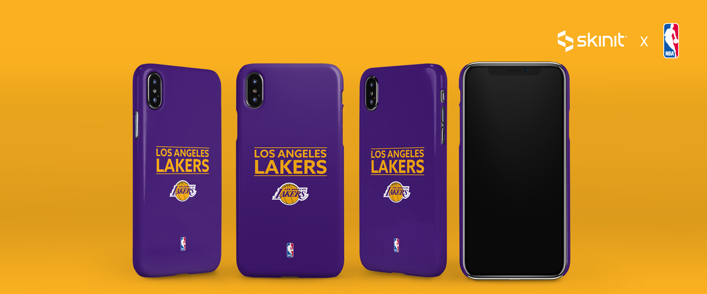 NBA Los Angeles Lakers iPhone XS Max Lite Case 5