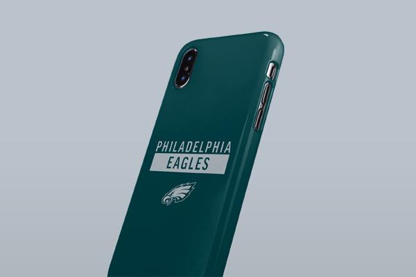 NFL Philadelphia Eagles iPhone XS Max Lite Case 3