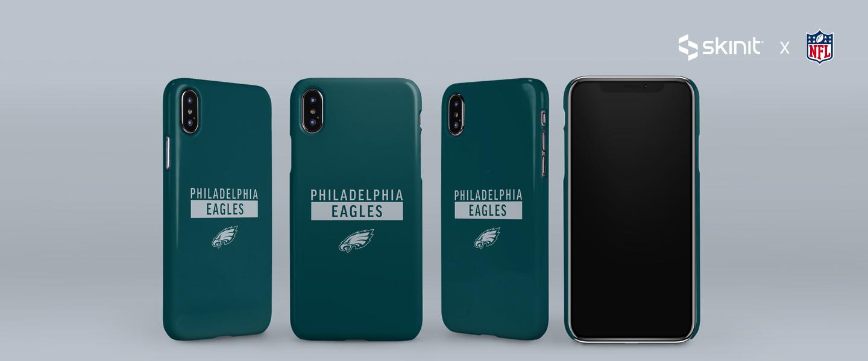 NFL Philadelphia Eagles iPhone XS Max Lite Case 5
