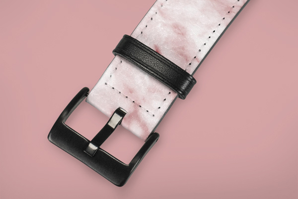 Patterns Pink Marble Apple Watch Band 38-40mm 2