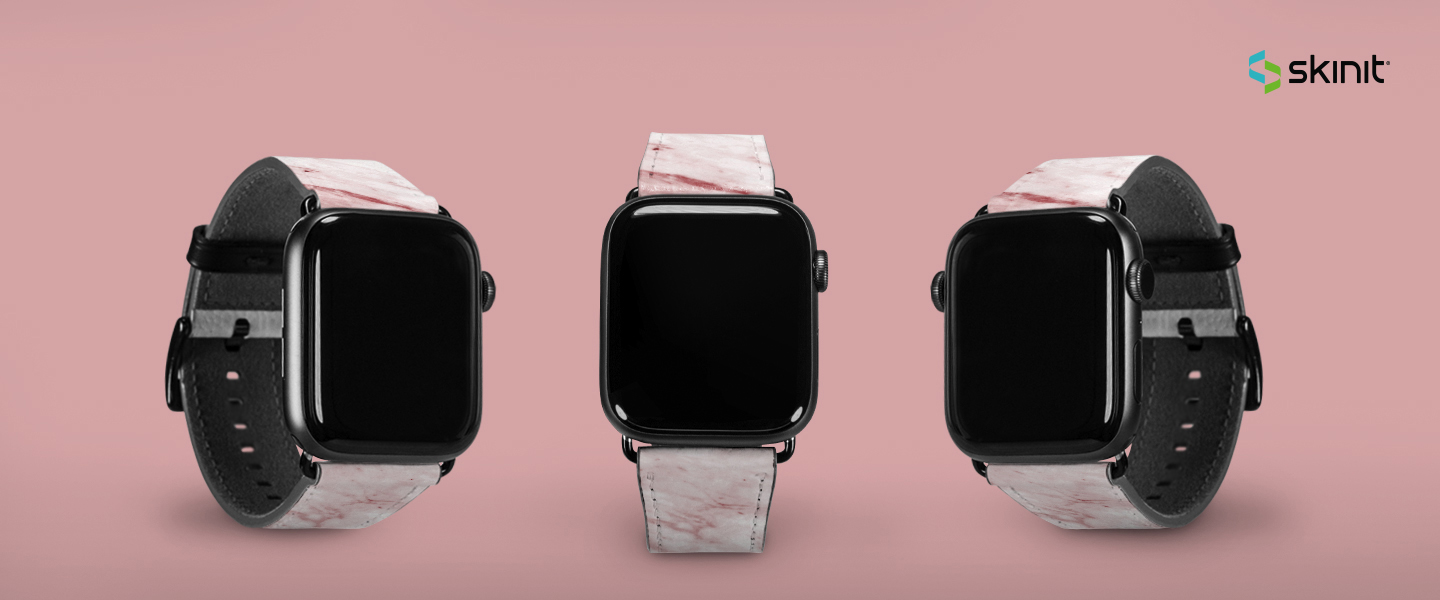 Patterns Pink Marble Apple Watch Band 38-40mm 5