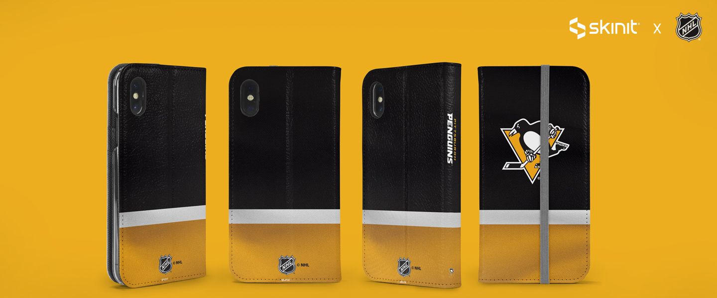 NHL Pittsburgh Penguins iPhone XS Max Folio Case 5 189b26fba