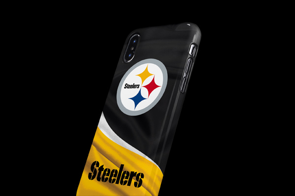 NFL Pittsburgh Steelers iPhone XS Max Lite Case 3