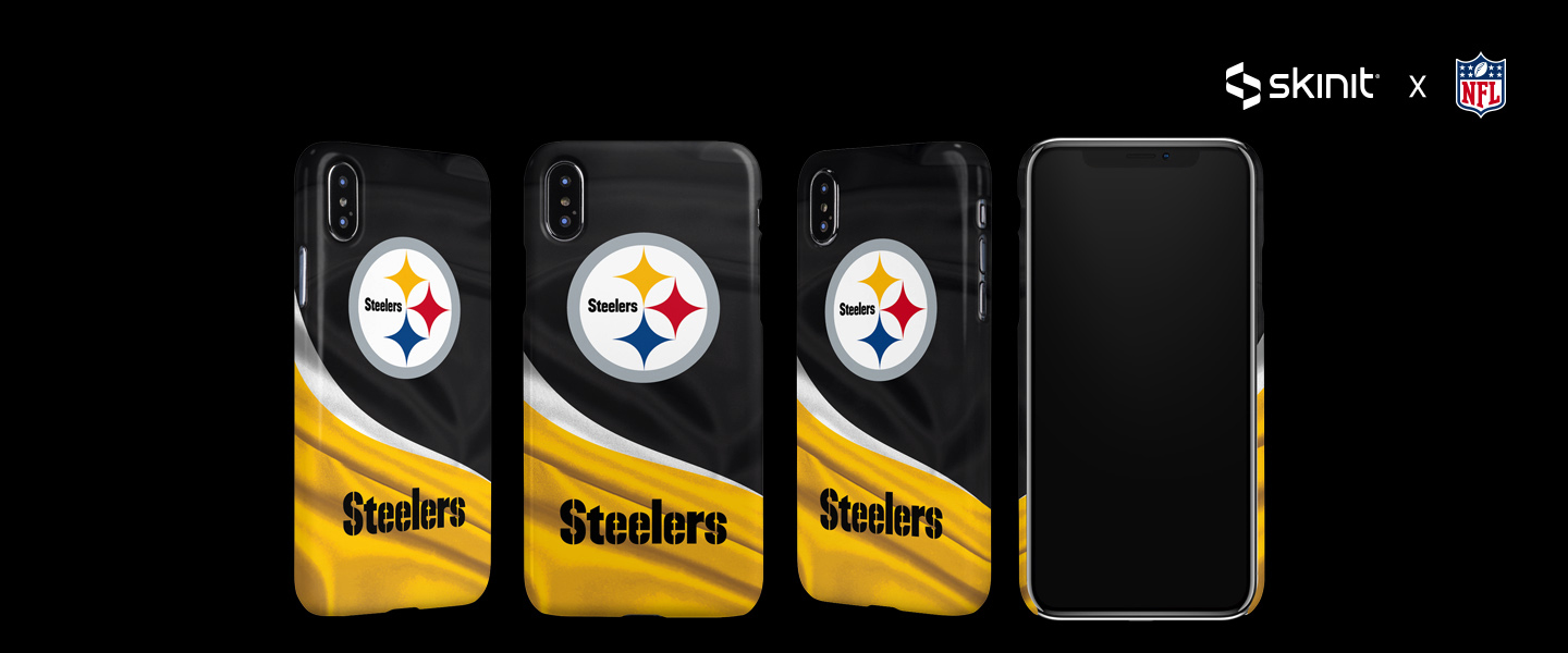 NFL Pittsburgh Steelers iPhone XS Max Lite Case 5