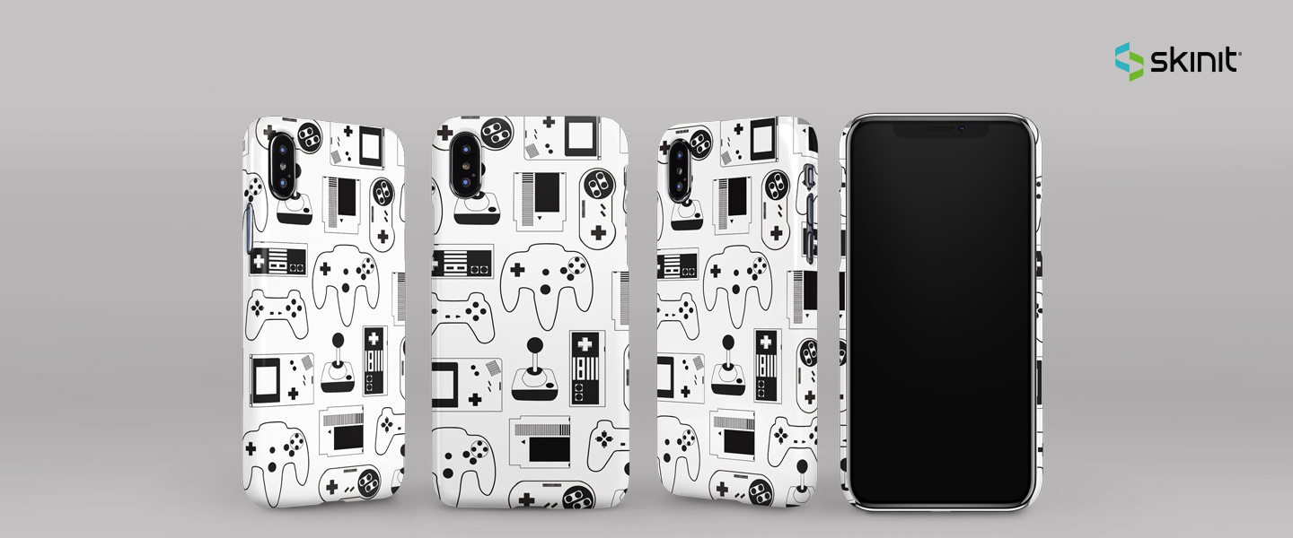 Lifestyle Retro Gaming iPhone XS Max Lite Case 5