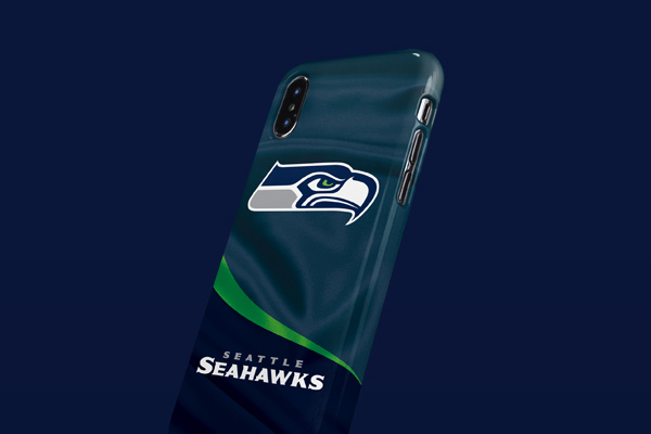 NFL Seattle Seahawks iPhone XS Max Lite Case 3
