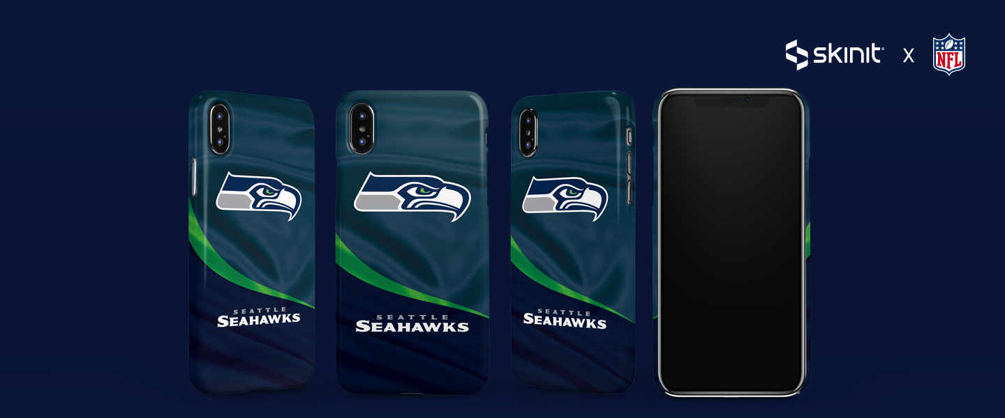 NFL Seattle Seahawks iPhone XS Max Lite Case 5
