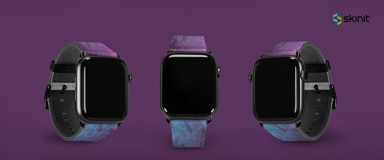 Patterns Purple Marble Apple Watch Band 38-40mm 5
