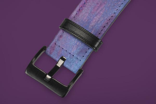 Patterns Purple Marble Apple Watch Band 42-44mm 2