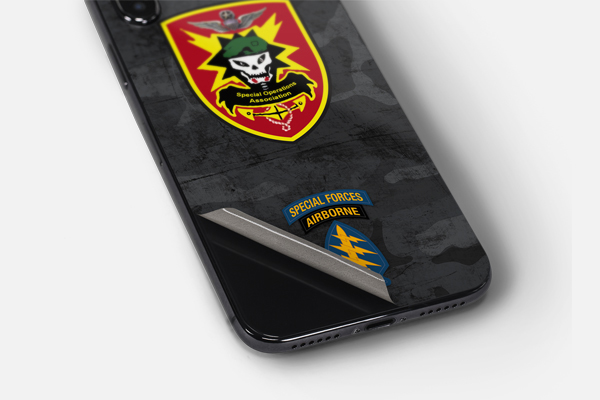Lifestyle Special Ops iPhone XS Max Skin
