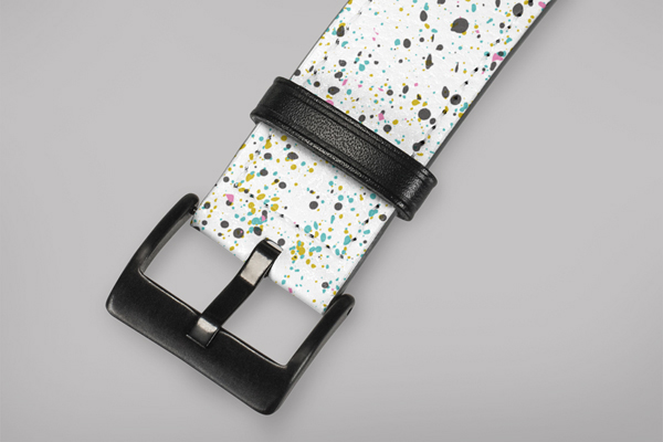 Patterns Speckle Apple Watch Band 42-44mm 2