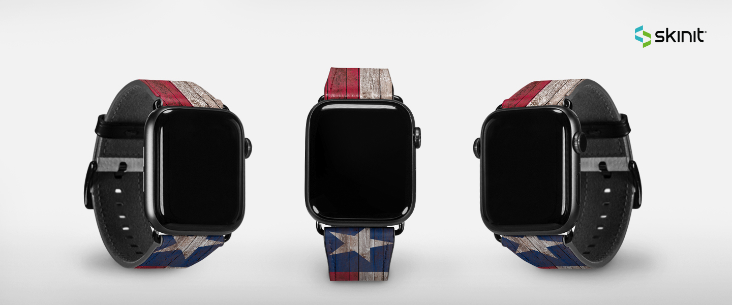 Lifestyle US State Flags Apple Watch Band 42-44mm 5