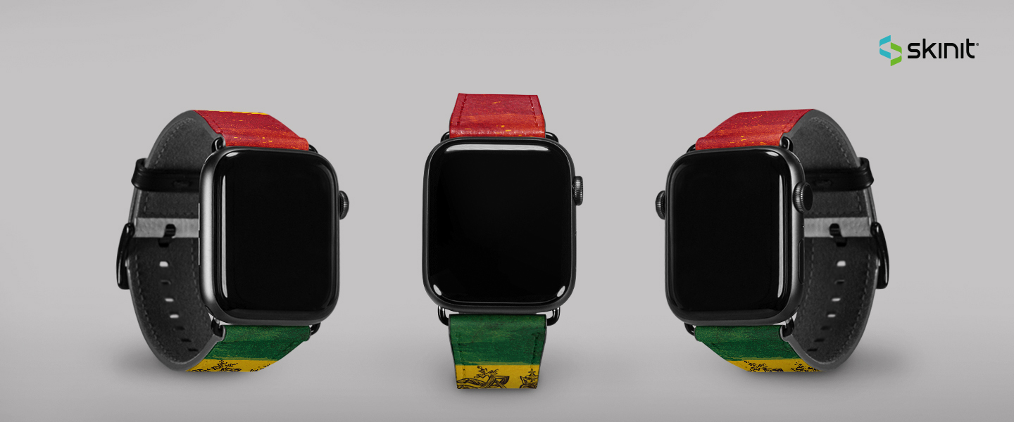Lifestyle Rasta Apple Watch Band 38-40mm 5