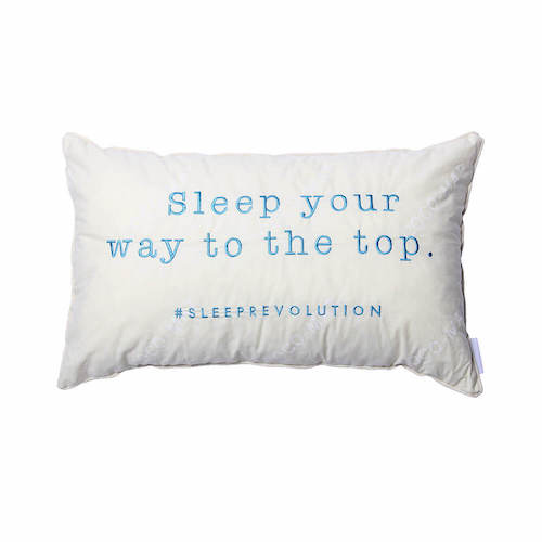 Product embroidered pillow
