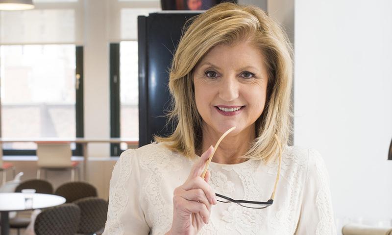 Η Arianna Huffington Σας Καλωσορίζει Στo Thrive Global Greece