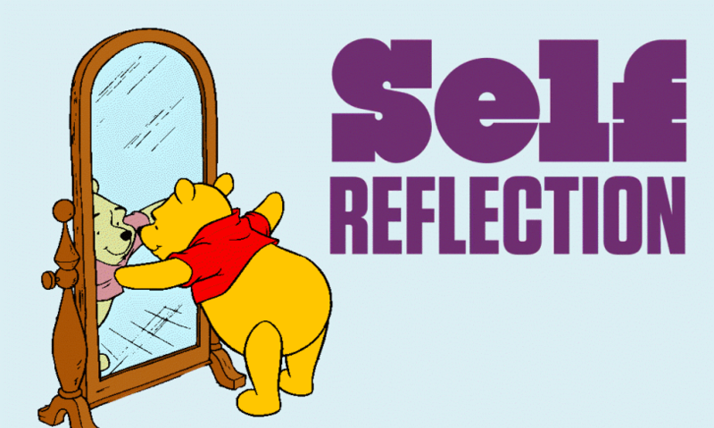 self reflection on iic One is that there is no generally applicable strategy for how to look for an executive job a good amount of self seek out reflection from others to.