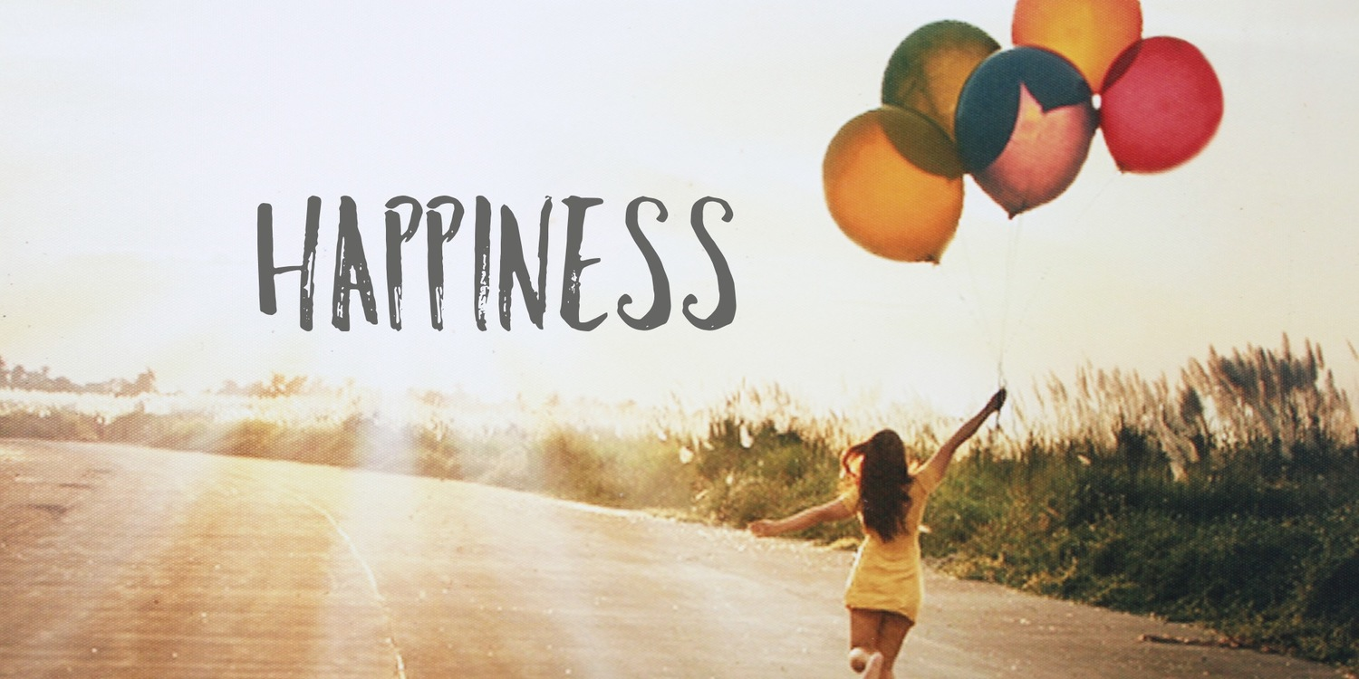 Why are unhappy those who have everything for happiness
