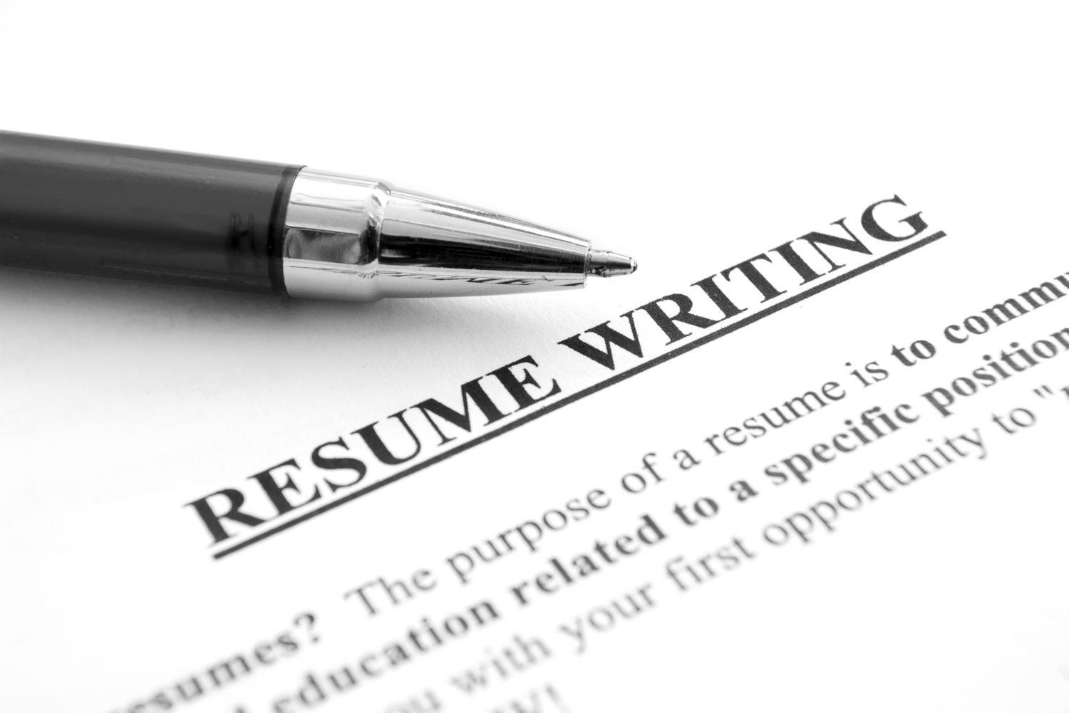 With The Joblessness Rate Supposedly Deteriorating, Now Is A Perfect Time  To Get Your Resume Set For Employment. Resume Writing And Formatting Can Be  A ...