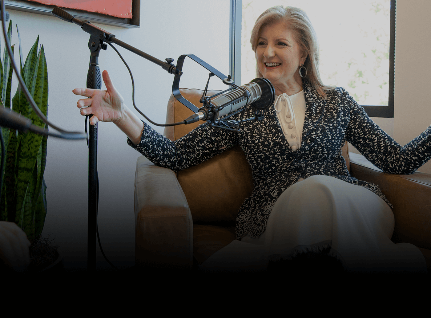 Arianna Huffington on Why No One Should Interview While Tired
