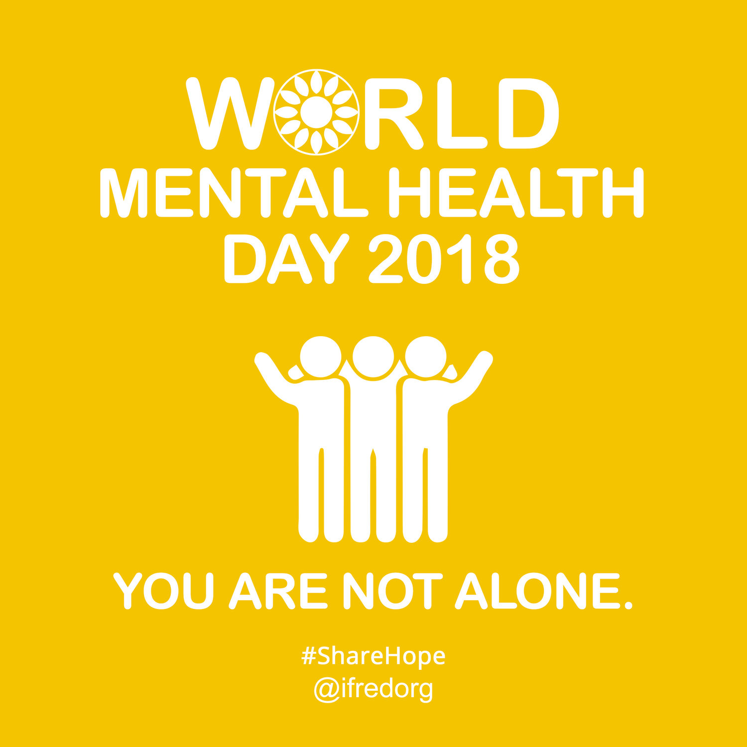 As We Celebrate World Health Day And The Year Ahead For Global Mental With A Focus On Youth Ask Support To Spread Hopeful Minds