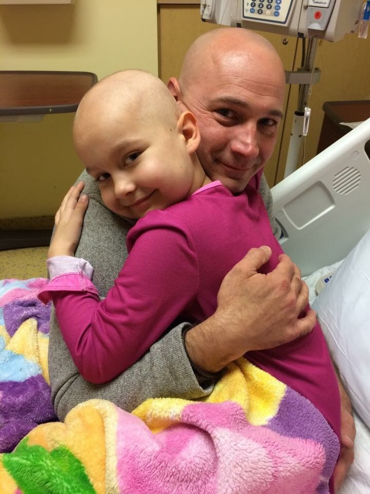2febe0303c1 Becca and her dad have launched a company called Knots & Arrows that sells  bracelets and donates a portion of proceeds to Tackle Kids Cancer, the  charity ...
