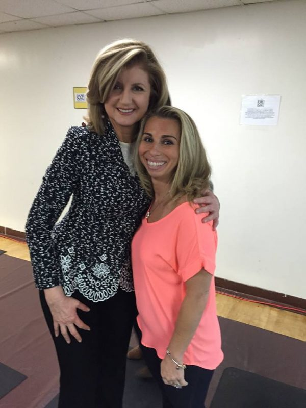 STACEY WITH ARIANNA HUFFINGTON