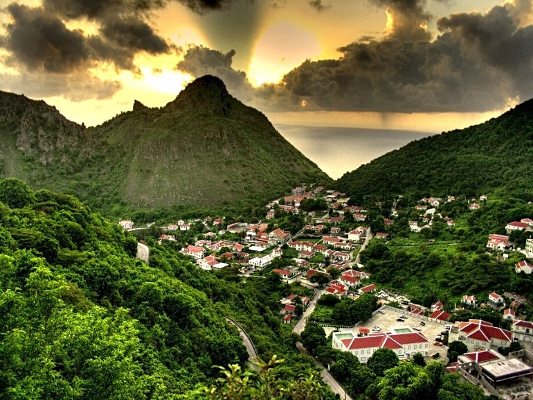 Saba Dutch Caribbean -