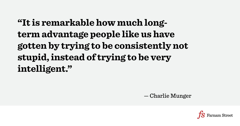Charlie Munger: