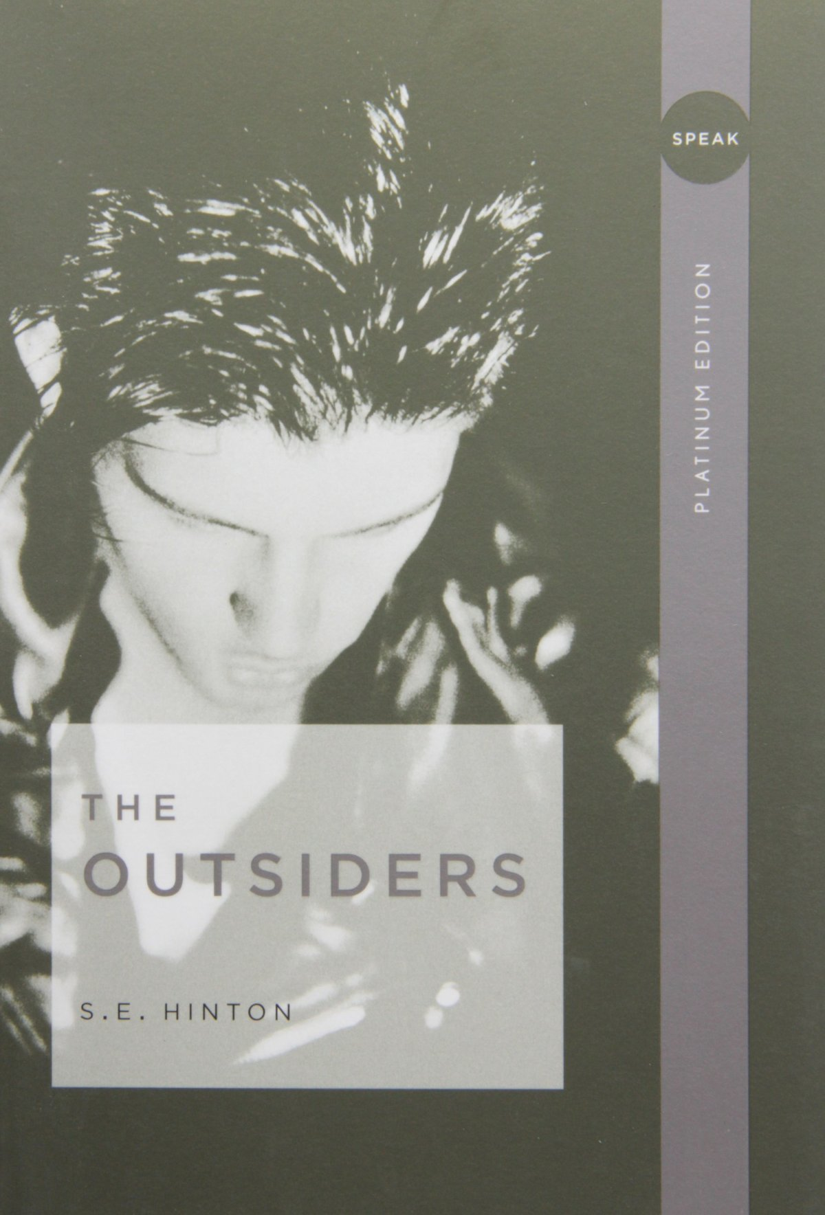 the good side to everyone in the outsiders a novel by s e hinton But times have been a-changin' since author se hinton penned the book, long beloved by misfit teens, when she herself was a high schooler in tulsa, oklahoma.