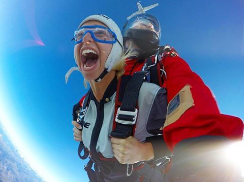 from childhood trauma to skydiving