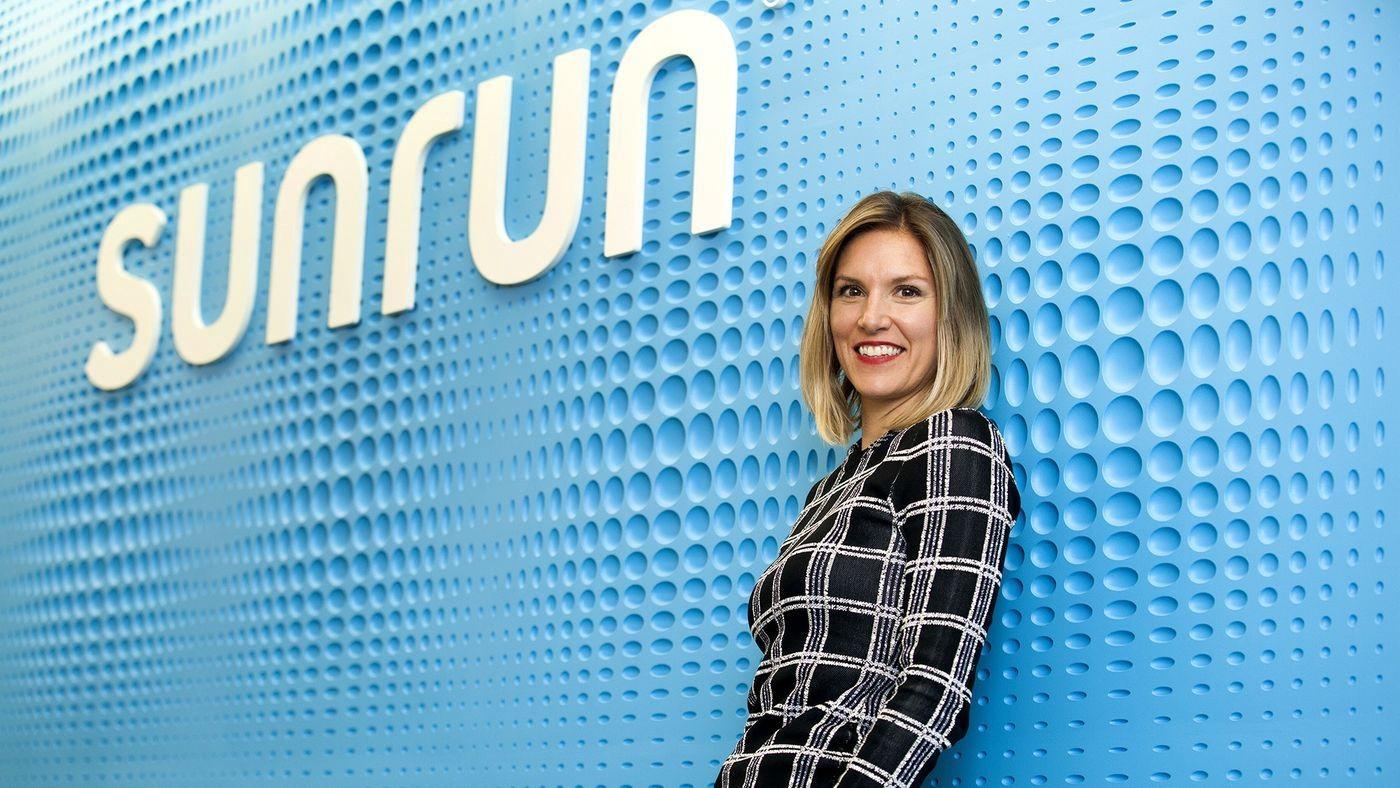 "Sunrun CEO Lynn Jurich: ""I'd like to start a movement to"