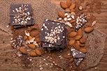 Dark Roasted Almond Chocolate Squares_2