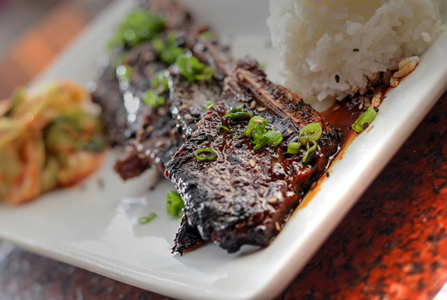 Spicy Asian Chocolate Short Ribs