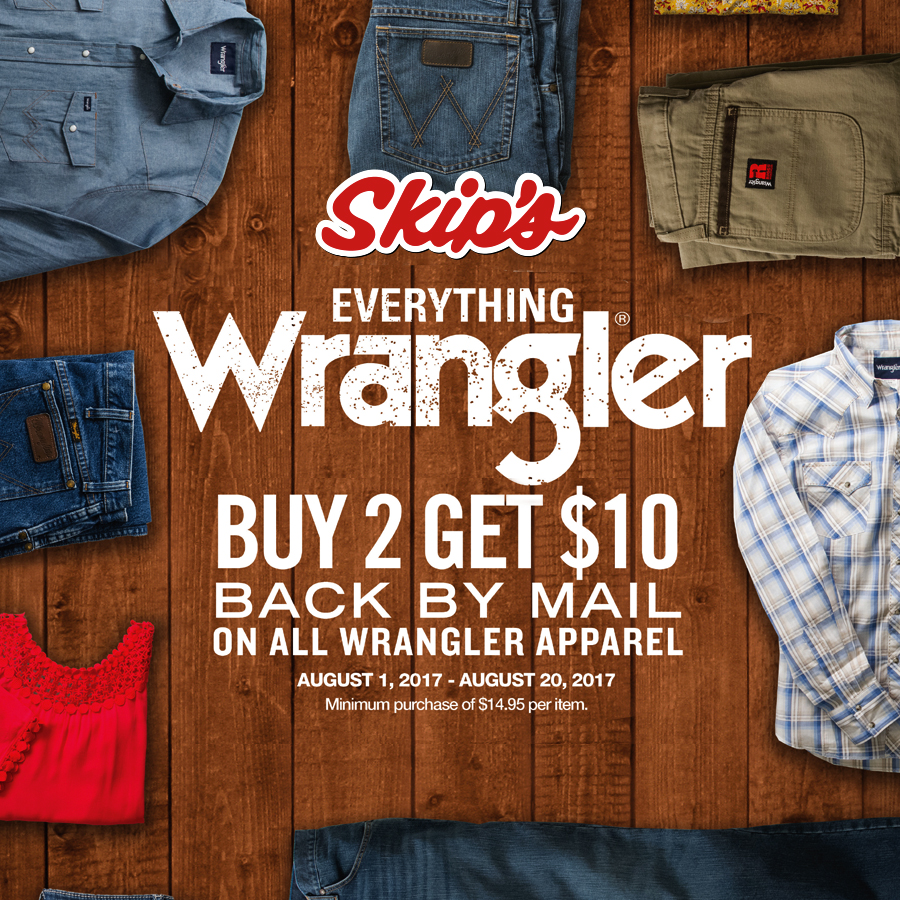 62971f08d3c4 Wrangler – Skip s Western Outfitters