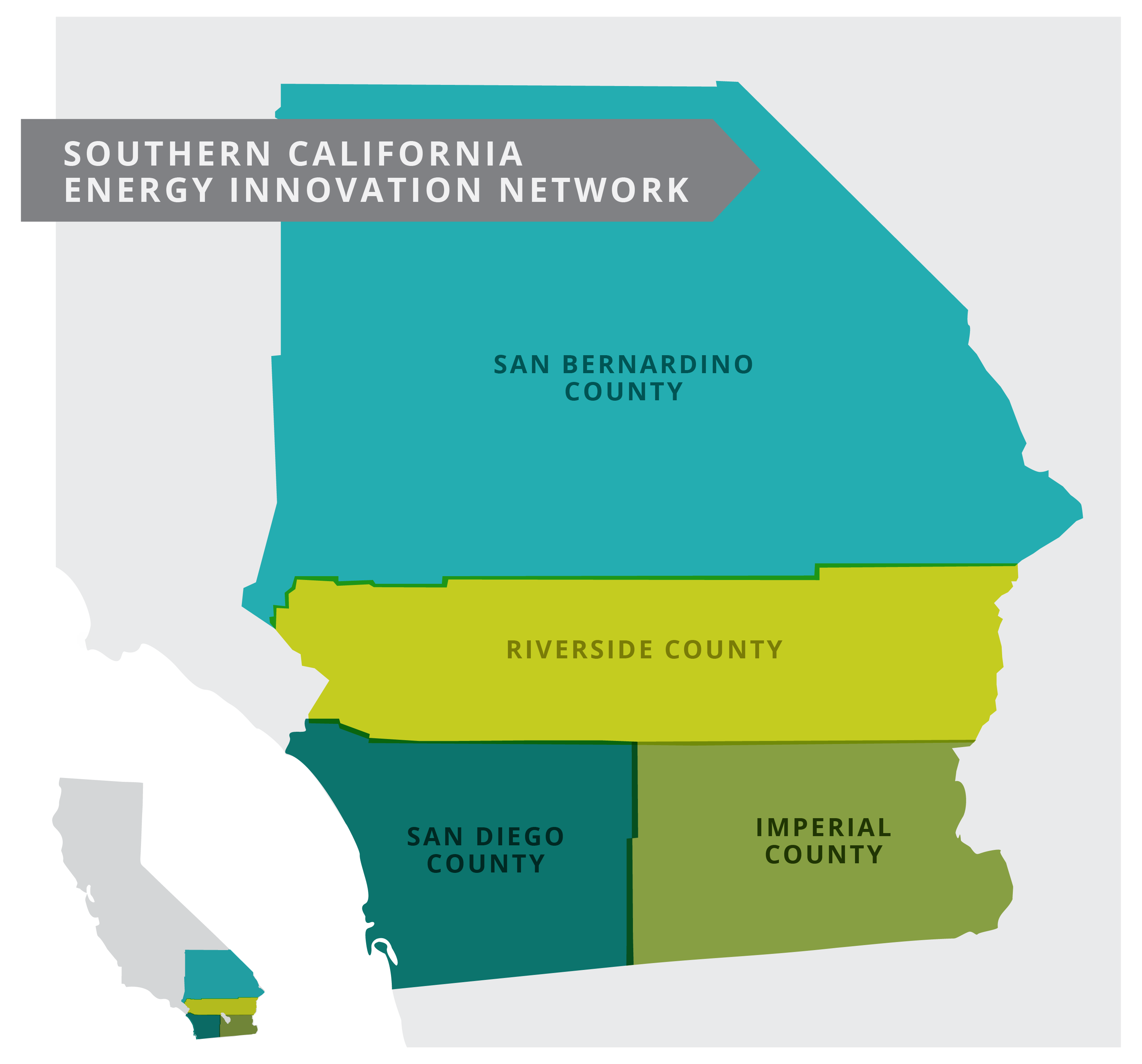 Southern California Energy Innovation Network Map