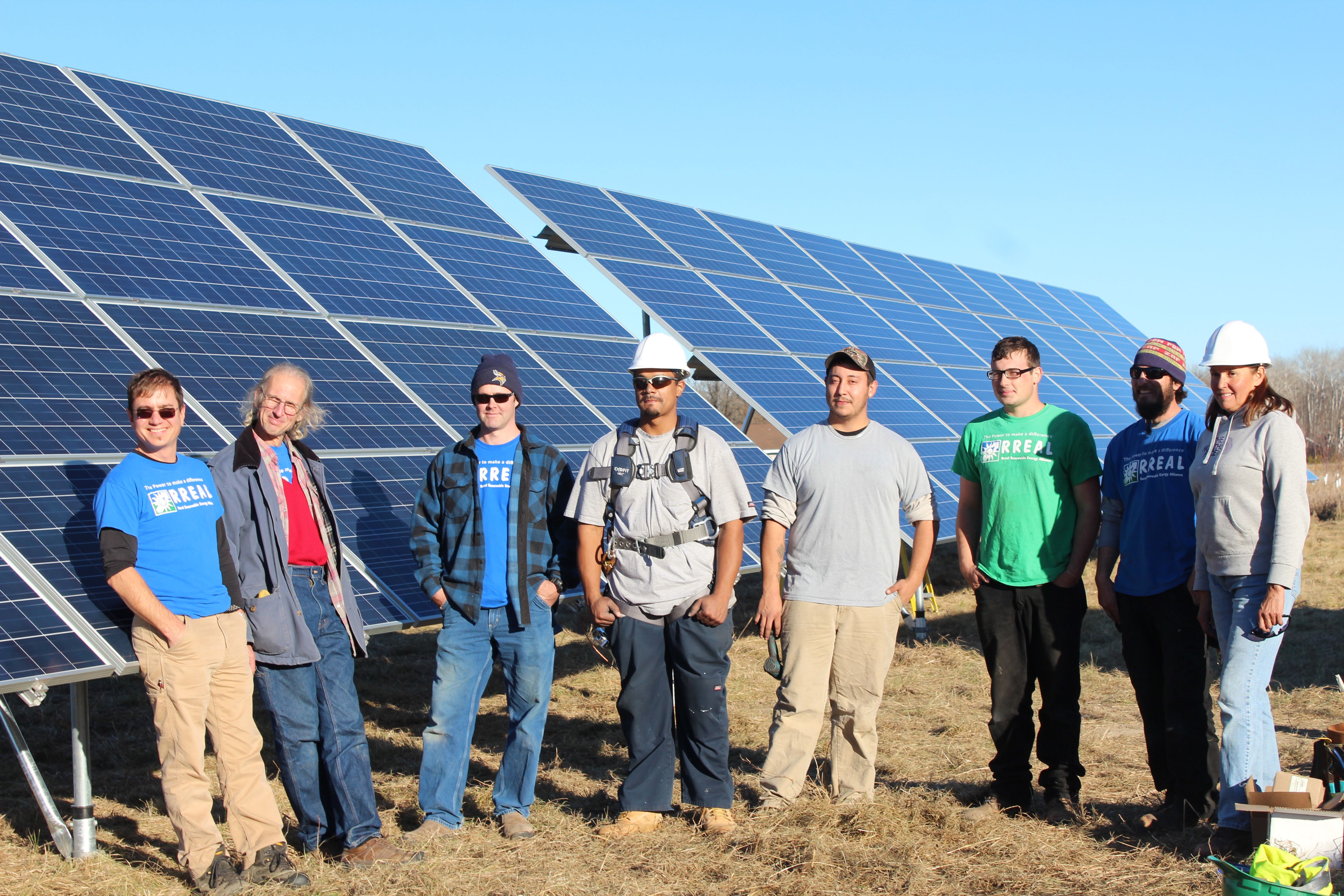 RREAL Installs Solar for Leech Lake Band of Ojibwe Native American Tribe