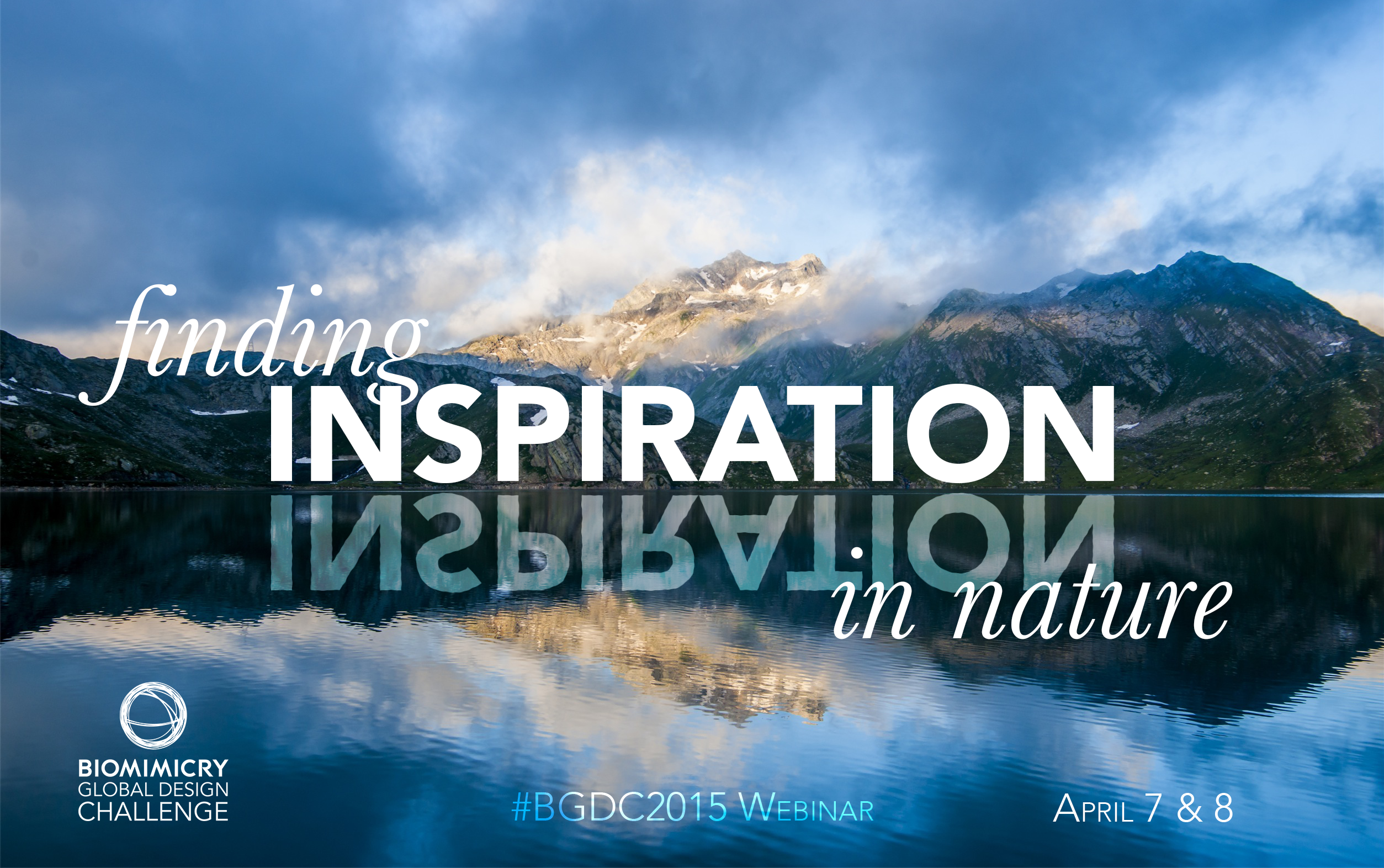 Join us on April 7 & 8 to learn how to find inspiration in nature