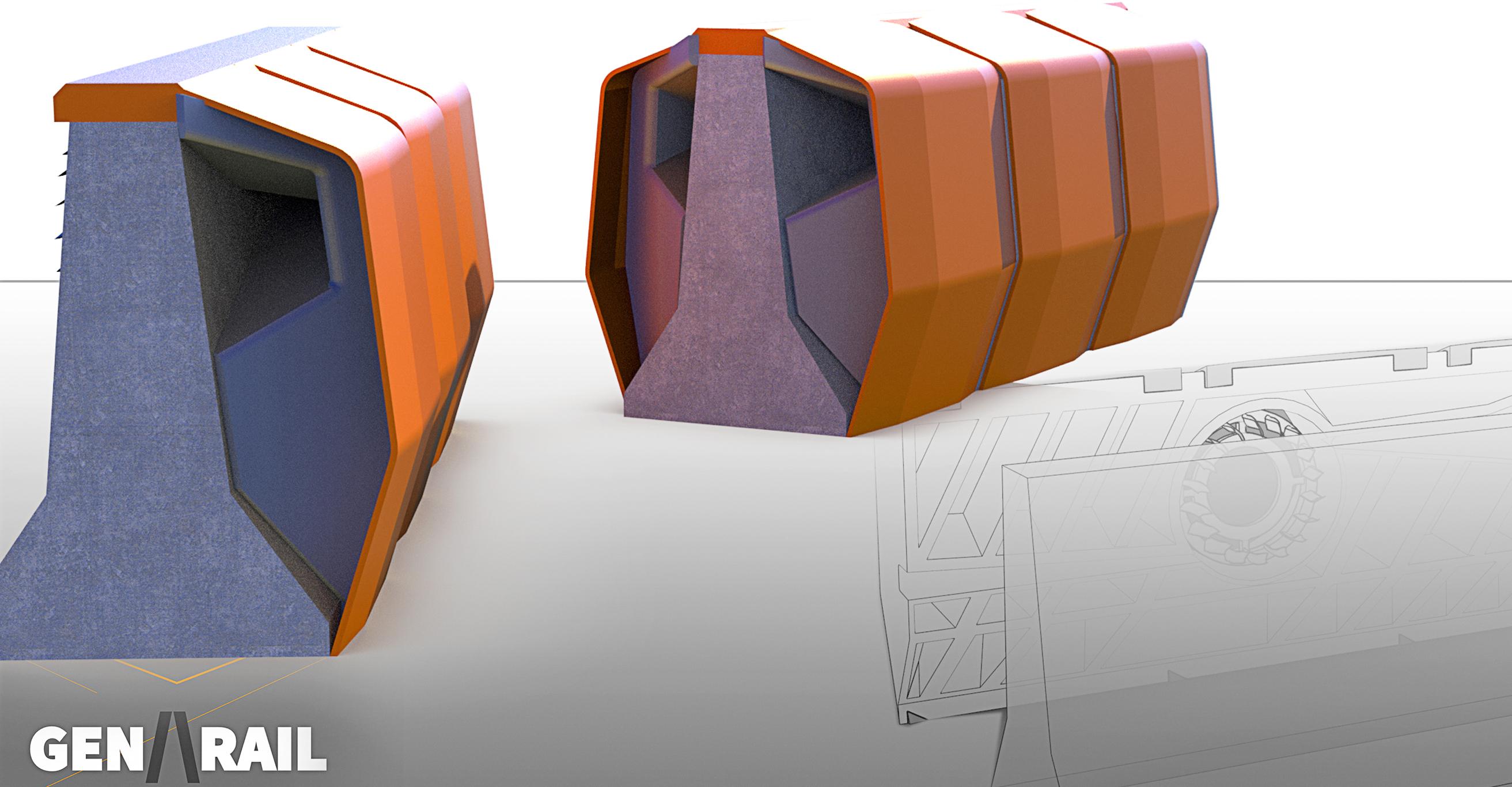 Gen-Rail: A Modular Freeway Energy Generation Device