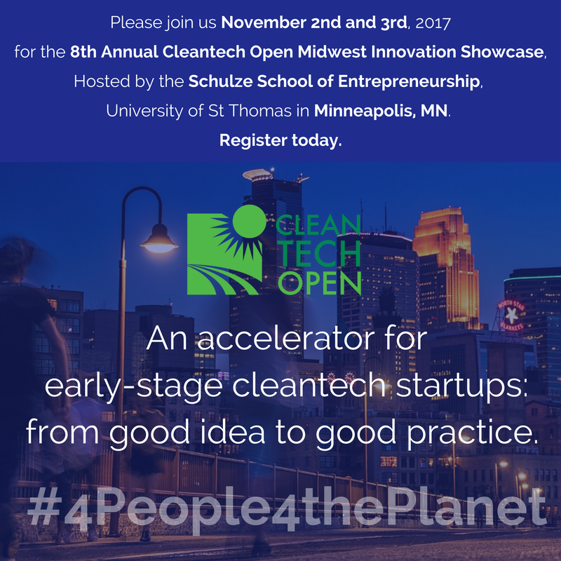 Cleantech Open-Midwest 2017 Innovation Showcase Program Guide