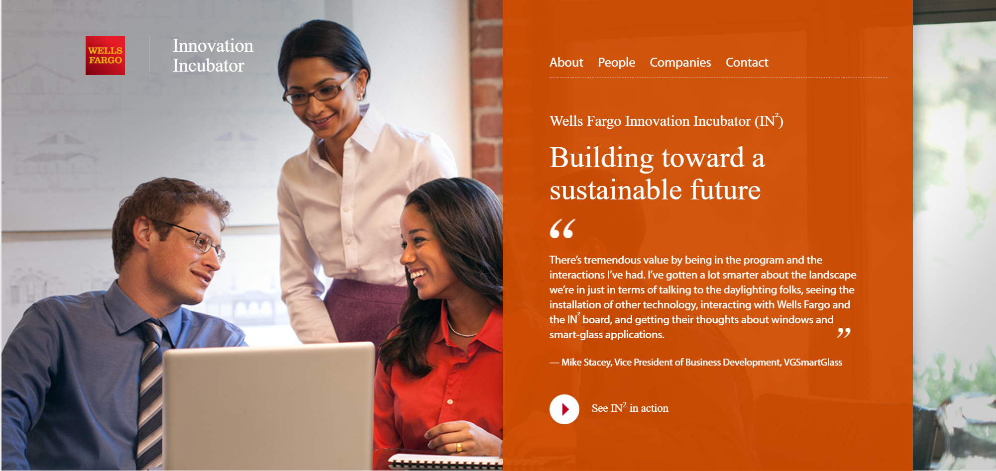 Wells Fargo Foundation Re-Upping CTO Sponsorship for 3 Yrs; CTO a Wells Fargo IN2 Channel Partner