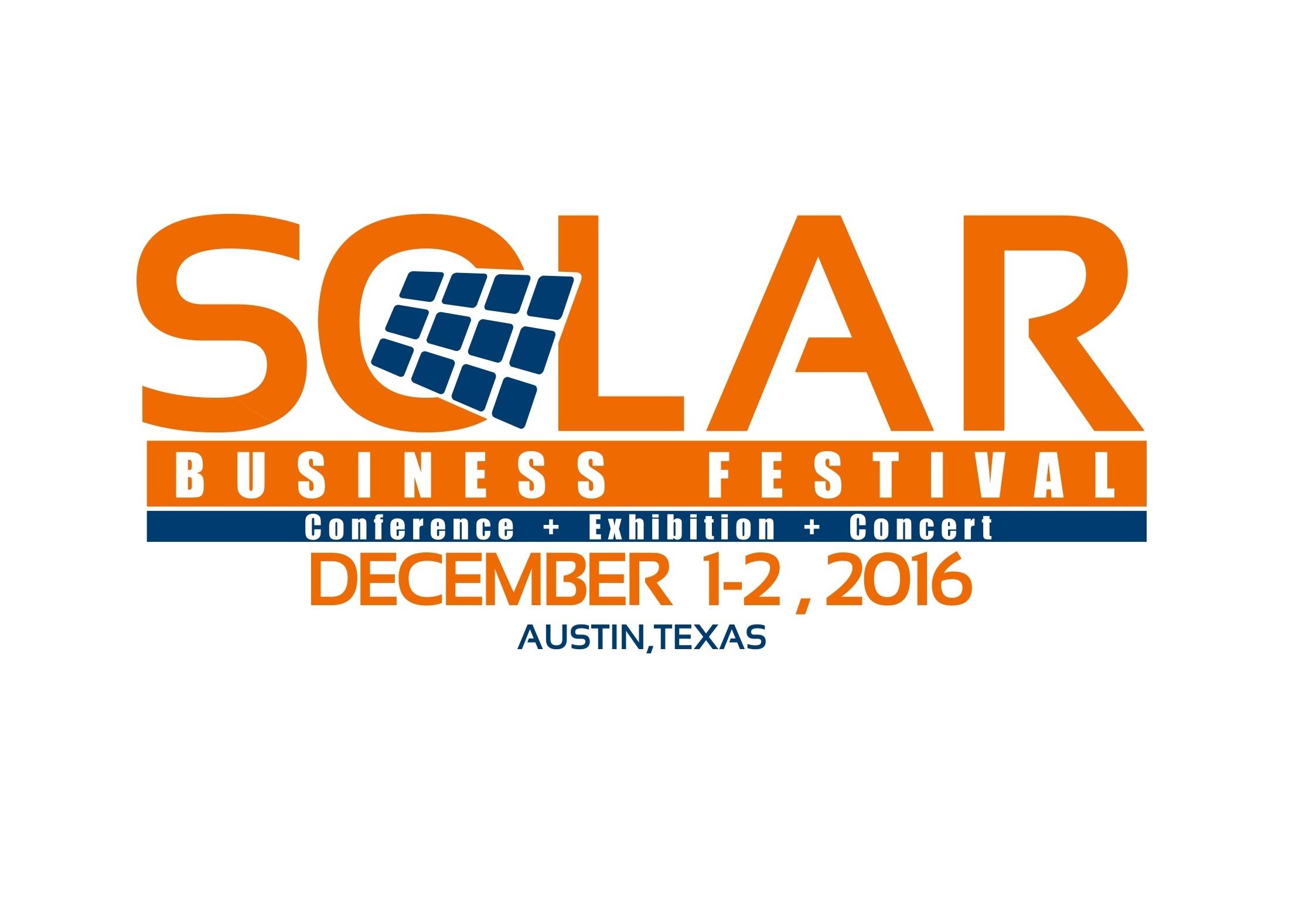 Solar Business Festival 2016