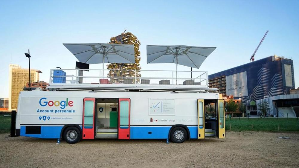 Da Milano a Cagliari, Google in tour per raccontare la sicurezza sul web