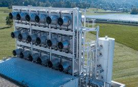 """""""Catturiamo CO2 e la trasformiamo in fertilizzante"""", in Svizzera il primo impianto commerciale al mondo"""