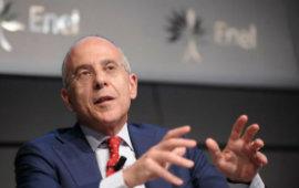 """Rinnovabili al 41% del mix energetico di Enel, Starace """"In un anno installati nel mondo 3,4 GW di nuova capacità''"""