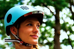 This bike helmet's features could make your ride much safer